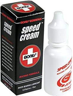 Bones Bearings Speed Cream Speed Cream 1/2 Oz. - Cera para Skateboards, Talla 7.5 x 0.5 x 1.5