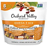 ORCHARD VALLEY HARVEST Omega-3 Mix, 1 oz (Pack of 8), Non-GMO, No Artificial Ingredients...