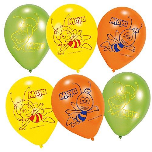 Biene Maja - Kinder Party Geburtstag Ballons Luftballons 6 Stück