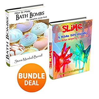 How to Make Slime and How to Make Bath Bombs: Double Book Bundle - Complete Recipe Books audiobook cover art
