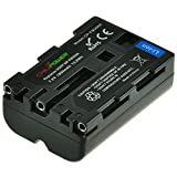 Chili Power Batería NP-FM500H para Sony Alpha SLT-A57, A58, A65, SLT-A65V, A77, A77V, A99, A100, A200, A300, A350, A450, A500, A550, A560, A580, A700, A850, A900, Sony CLM-V55