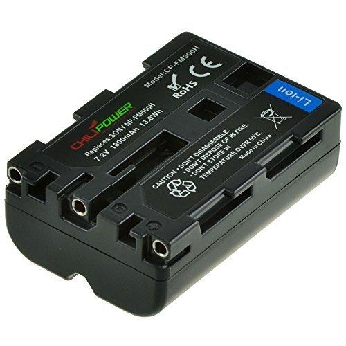 Chili Power Batería NP-FM500H para Sony Alpha SLT-A57, A58, A65, SLT-A65V, A77,...