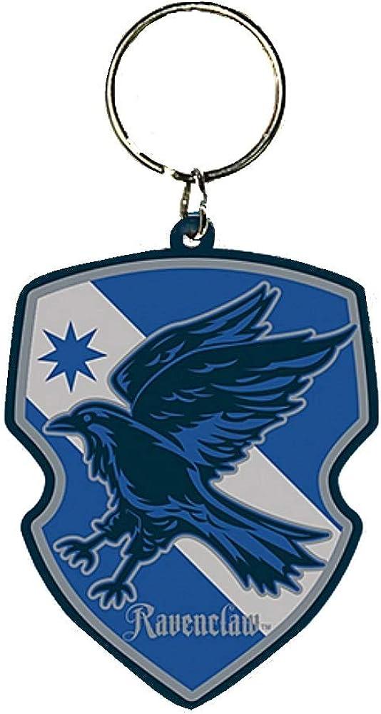 Warner Bros. Genuine Harry Potter Ravenclaw House Crest Rubber Keyring Key Fob Hogwarts