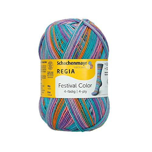 Regia Handstrickgarne 4p Color 100g Rock in Rio