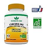 Curcuma Bio 90 gélules–Anti-inflammatoire naturel–Efficace–Effets immédiats–OFFERT: Facture + Notice d'utilisation...