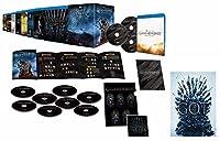 【Amazon.co.jp限定】ゲーム・オブ・スローンズ 第一章~最終章 ブルーレイ コンプリート・シリーズ (初回限定生産) (特大ビジュアルクロス(B1サイズ)付) [Blu-ray]