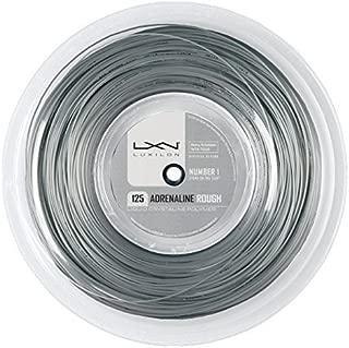 Luxilon Adrenaline Rough Tennis Strings 1.25 mm Grey by Luxilon