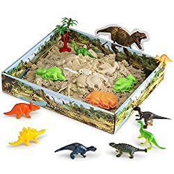 where to buy kinetic sand on amazon that has dinosaurs
