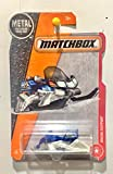 Matchbox 2017 MBX Heroic Rescue Snow Ripper (Snow Mobile) 73/125, Blue and White