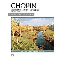 Alfred 00-16715 Etude in C minor- Op. 10- No. 12 - Music Book