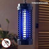 InnovaGoods   lámpara antimosquitos KL-1800   Trampa para insectos   Luz UVA   Color Negro