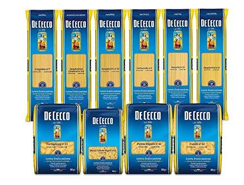Pasta De Cecco 100% Italienisch fantasia paket 10x 500g Nudeln