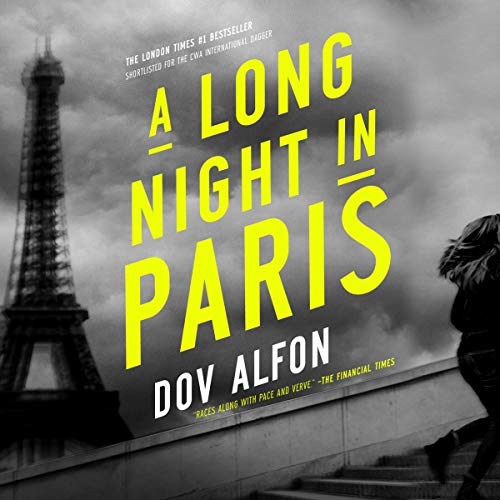 A Long Night in Paris audiobook cover art