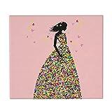 HBAUAJIA Butterflies Princess - Alfombrilla de secado para...