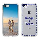 MXCUSTOM Coque Personnalisée Apple iPhone 7/8 / Se 2020, Personnalisable avec Votre Propre Photo...