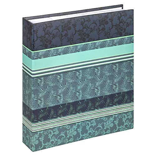 walther design ME-359-L Memo-Einsteckalbum Pheline, blau, 200 Fotos 13x18 cm