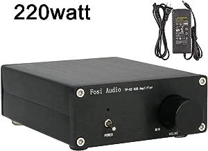 Subwoofer Amplifier TDA7498E Mini Sub Bass Amp Digital Class D Integrated Subwoofer Amplifier 220Watt x 1 Fosi Audio TP-02