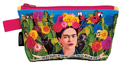 Frida Kahlo Bag - 9' Zipper Pouch for Pencils, Tools, Cosmetics and More