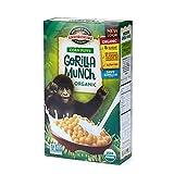 Gorilla Munch Corn Puff Organic Cereal, 10 Oz Box (Pack of 6) Gluten Free
