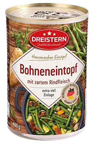 Dreistern Grüne Bohneneintopf, 400 g