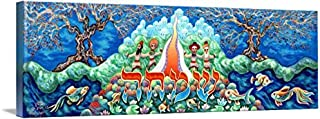 Imagekind Wall Art Print Entitled Simcha Happiness by Baruch Nachshon | 10 x 3