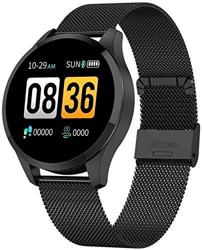 BNBN HXM-00 Smart Watch Sleep Monitoring Pulsera IP67 Color Pantalla de Color Impermeable Deportes Fitness Tracker Watch Deportes Inteligentes Hombres y Mujeres (Color : B)