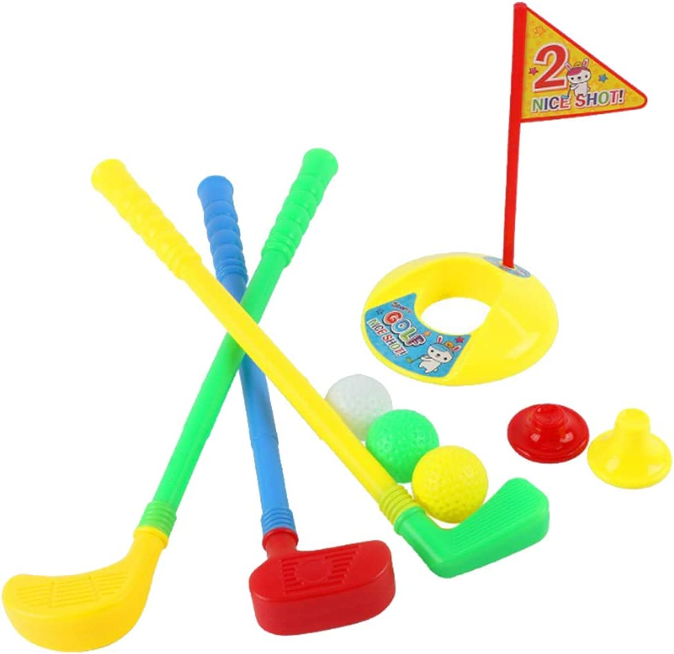 Colcolo Funny Save money Kids Golf Max 90% OFF Putter Cup Girls Putting Fun Boys