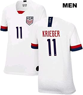 ZZXYSY Carli Lloyd #10 2019 Womens World Cup USWNT Mens Home Soccer Jersey//Short Colour White