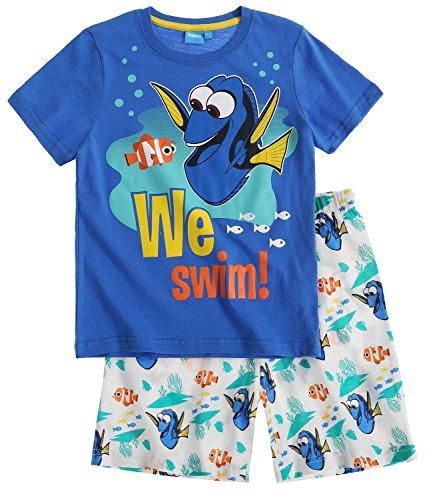 Disney Findet Dory Shorty Pyjama 2016 Kollektion (128, Blau)