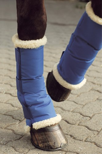 USG Wärme und Transportgamasche, kurz, blau, 4tlg.