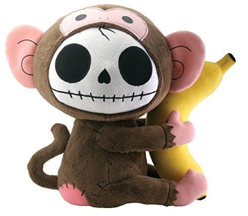 Summit Munky T-Monkey Furry Bones Plüsch Stofftier Puppe, groß