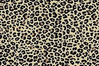 Yilooom Leopard Pattern Htv Heat Transfer Vinyl Tshirt Fur Animal Print Craft 18 X 12