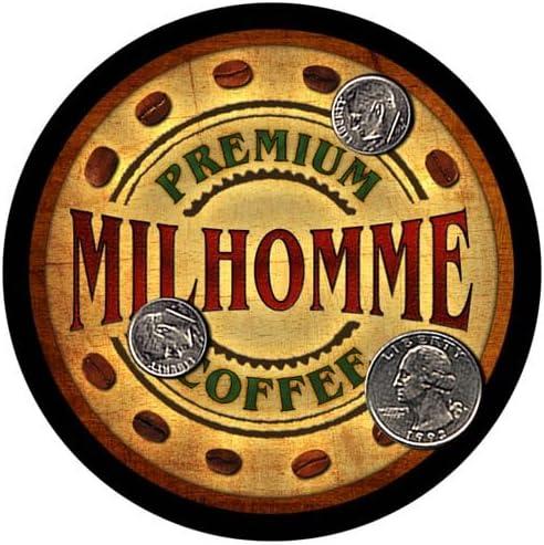 Milhomme Cheap bargain Coffee Custom Neoprene Rubber 4 Drink Genuine - pcs Coasters