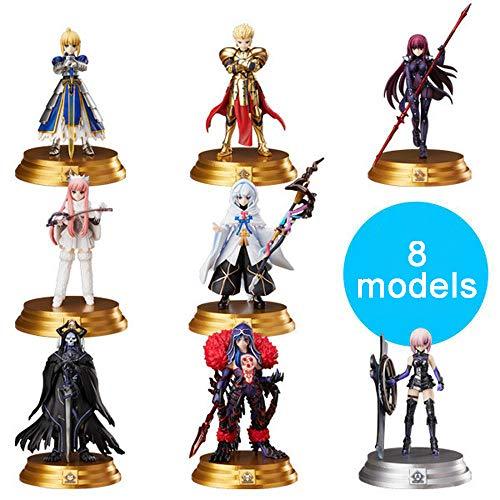 KER Fate/Groß Auftrag 8 Ritter Charakterpuppen Merlin Gilgamesh Anime Action-Figur Animationsfigur Modell Anime-Charakter Statue Ornament Kollektion