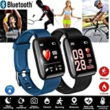 Brands4Ever Smart Band Fitness Tracker Watch Heart Rate with Activity Tracker Waterproof Body