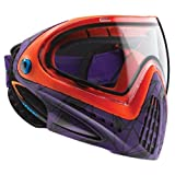 Dye Erwachsene Paintball I4 Pro Thermalmaske UL Paintballmaske, Lila/Orange, One Size