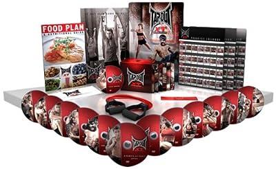 TapouT XT TV Special XT and Leg Bands/Diet Plan/Workout Chart 1 12 DVDs and 1 Bonus DVD