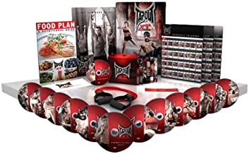 TapouT XT TV Special XT and Leg Bands/Diet Plan/Workout Chart 1 12 DVDs and 1 Bonus DVD