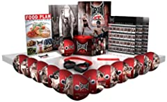 Everything you need comes right in the box and there's no weights or pull up bars to buy You get 12 different (MMA) inspired workout programs to test your muscles and your mind plus a Bonus Strike Training Each combat style workout combines MMA-style...