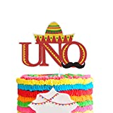 UNO Cake Topper , First Birthday Party Decor , One Year Old Baby Shower Decorations , Carnival Theme Party Decorations Supplies.