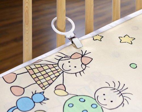 Reer 4589 - Enganches para la ropa de cama (4 unidades)