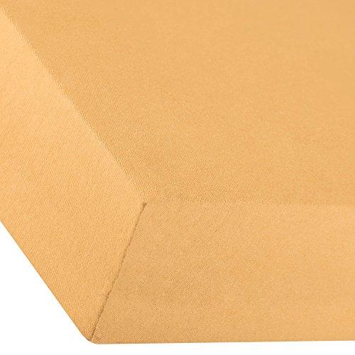 aqua-textil Premium Hoeslaken 180x200-200x220 cm Katoen Lakens Laken Elastan Hoeslaken