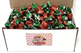 Colombina Hard Candy Bon Bons in Box, 2lb (Strawberry) (Individually Wrapped)