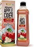 Glamorous Hub WOW Life Science vinagre de sidra de manzana orgánico con hebra de madre, no de concentrado - 750 ml (el empaque puede variar)