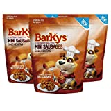 BARKYS Mini Salchichitas/Mini Sausages, 3 Pack de 100g
