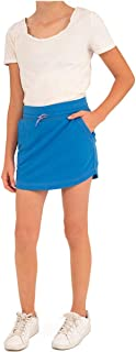 Boston Traders Girl's Cotton French Terry Skort (Palace Blue, S(7-8))