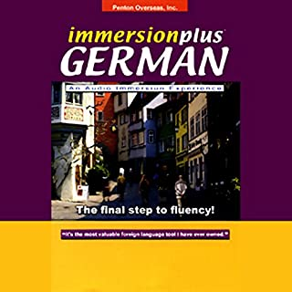 ImmersionPlus     German              By:                                                                                                                                 Penton Overseas Inc.                               Narrated by:                                                                                                                                 uncredited                      Length: 2 hrs and 45 mins     25 ratings     Overall 3.2