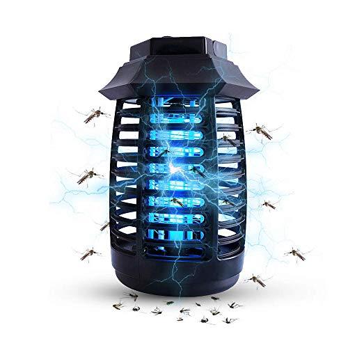 BIILII Lámpara Anti Mosquitos, UV Mata Mosquitos Lámpara Mosquito Electrico, Mata Mosquitos y Repelente Insectos Silencioso Mosquitos eléctrico Lámpara para el hogar, Restaurante, Oficina, Dormitorio