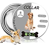 Collar for Dogs, 8 Months Effective Protection Waterproof Dog Anti Flea Collar, adjustable