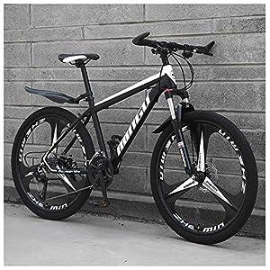 Mountain Bikes NENGGE 33 Speed Men's Mountain Bikes, Aluminum Alloy Hardtail Mountain Bike, Mountain Bicycle with Front Suspension Adjustable Seat [tag]